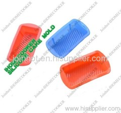 oblong shape colorful silicone soap mold china supplier