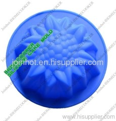 sunflower single cake mold/ muffin pan/soap mold silicone material