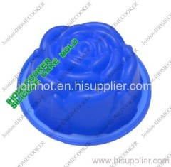 cheap single rose silicone muffin pan FDA/LFGB CHINA supplier