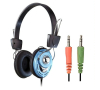 Blue Stereo Computer Headphone