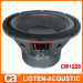 2.5 inch voice voil steel auto speakers woofer