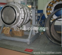 plastic large pipe machinery