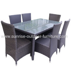 Outdoor rattan furniture wicker patio sofas