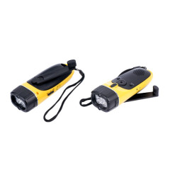 Dynamo radio flashlights