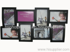 Plastic Injection Photo Frame,4X6-4&6X4-4 opening,meansures59.3X33X4CM
