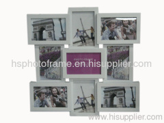 Plastic Injection Photo Frame, 4X6-4&6X4-5 opening,meansures45.5X45.5X3.8CM