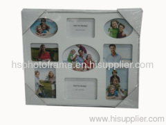 Plastic Injection Photo Frame, 9 opening,meansures34.5X29X2CM