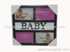 Plastic Injection Photo Frame, 6X4-4 opening,meansures 36X34X2.2CM