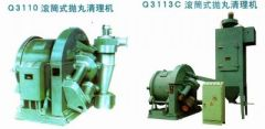 Rolling Drum Type Shot Blasting Machine