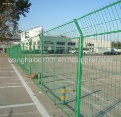 bilateral wire mesh fence