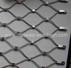 織りステンレス鋼ケーブルメッシュ