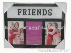 Plastic Injection Photo Frame, 4X6-3 opening,meansures 37X28X2.3CM