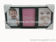 Plastic Injection Photo Frame, 4X6-3 opening,meansures 34.5X18X2.5CM