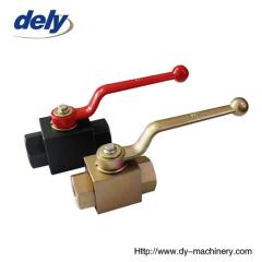 KHB, BKH 2 way steel high pressure ball valve manufactures