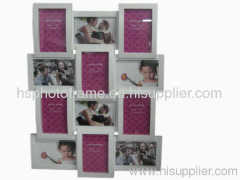 Plastic Injection Photo Frame, 4X6-6&6X4-6 opening,meansures 61.7X47.2X4.7CM