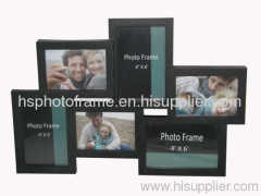 Plastic Injection Photo Frame, 4X6-3&3.5X5-3 opening,meansures 45x31x3cm