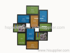 Wooden Photo Frame,Meansures, 56X49.5X3CM