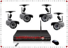 night vision CCTV camera DVR