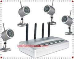 IR wireless CCTV camera