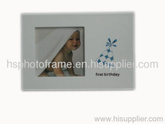 Wooden Photo Frame,MDF,Meansures,20.5x14x1cm