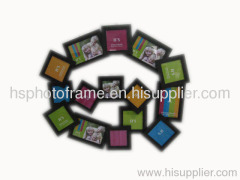 Wooden Photo Frame,MDF With Veneer,Meansures,70x64x2.4cm