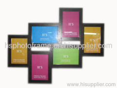 Wooden Photo Frame,MDF With Veneer,Meansures,53.5x42.5x2.6cm