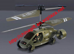 USB Rechargeable IRC Gyro RUN-and-FLY Control Helicopter