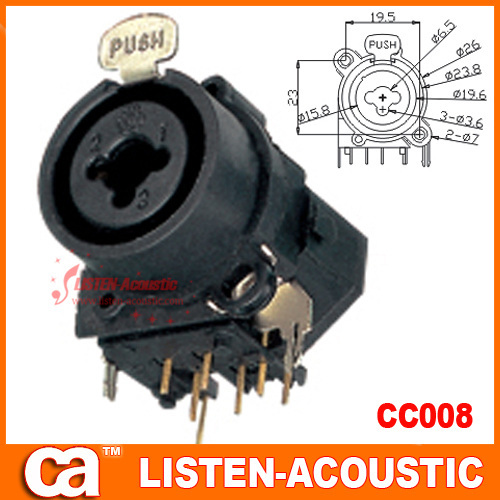 Combo Xlr Jack Wiring - Wiring Diagram Tools on