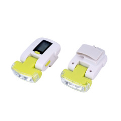 Pedometer with lights