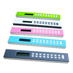 PLA calculator with rulers