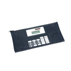 Pencil case with calculators