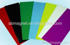 Flexible pvc magnet sheet