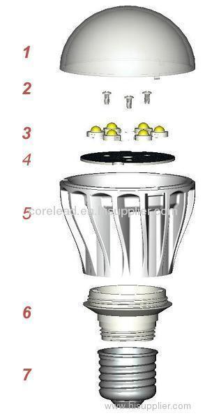 How we make the LED bulb