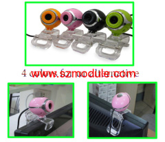 Laptop USB mini webcam Crystal clip 5.0 Mega Pixel USB HD WebCam