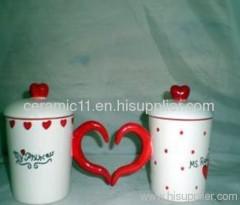 custom porcelain mug