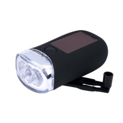 3-LED Dynamo & Solar power bicycle light
