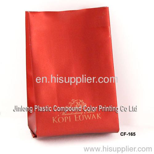 aluminum foil coffee bag