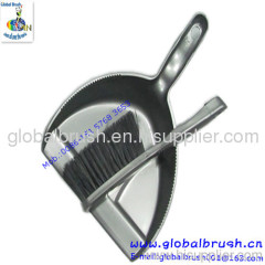 HQ0777 China best-seller cheapest home plastic dustpan and brush,hand brush with dustpan set