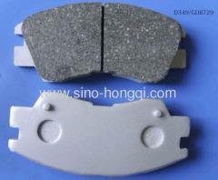 Brake pad MB500812 for Hyudai