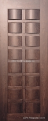 veneer wooden door/ interior exterior wooden door