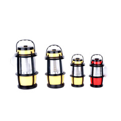 3*D batteries Oak barrel shaped camping lights
