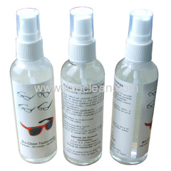anti fog lens cleaning solution 100ml