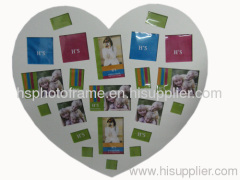 Wooden Photo Frame MDF ,Meansures,66x62x1.5cm