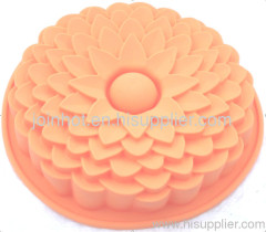7inches sunflower silicone cake pan