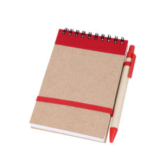 Recycled pen can be fixed with notebooks