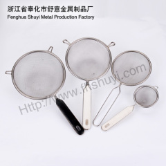 stainless steel food filter spoon