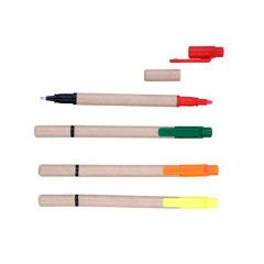 Paper highlighter & ballpens