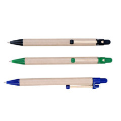 Recycled Paper-pipe ball-pens