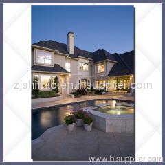 Aluminum windows for villas