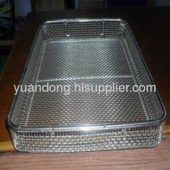 high quality stainless steel wire mesh basket